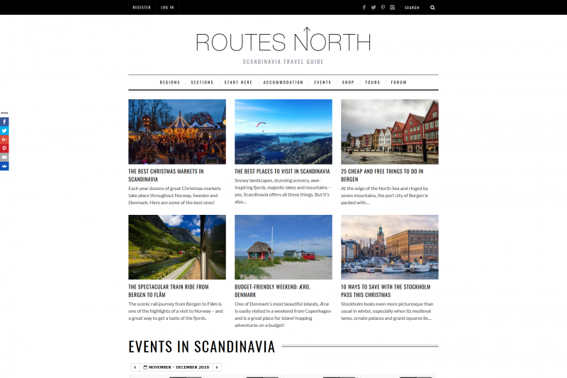 Routes North